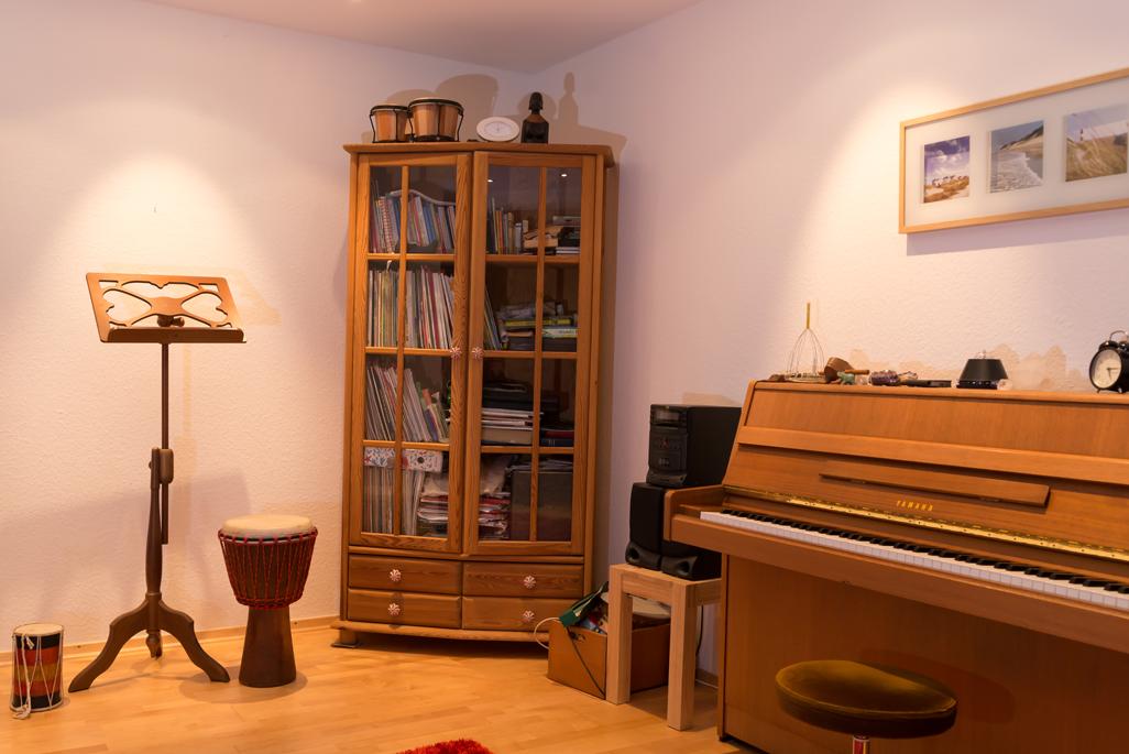 Unterrichtsraum für Querflöten-Unterricht in Oldenburg Anke Roßner